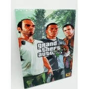 - Placa Metal Gta V Five 27x20cm Game