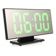 - Relógio De Mesa Led Digital Espelhado Verde