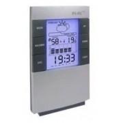 Relógio Digital Com Despertador Termômetro Higrômetro