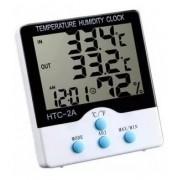 - Termômetro Higrômetro Digital Máxima Mínima Int Ext Htc-2a