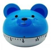 Timer Temporizador Urso Azul Cronômetro Regressivo