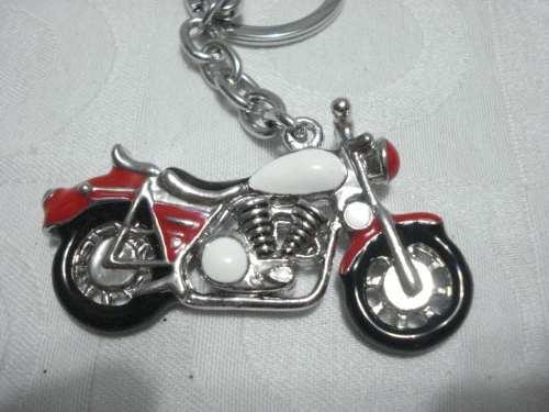 Chaveiro Moto Esportiva Inox  - Presente Presente