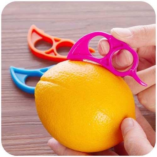 Descascador Prático Frutas Laranja E Limão  - Presente Presente