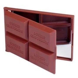 Espelho De Bolsa Barra De Chocolate  - PRESENTEPRESENTE