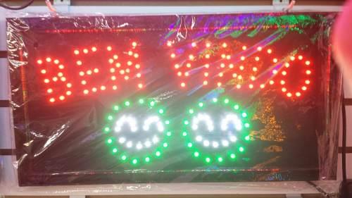 Letreiro Luminoso Placa De Led Bem Vindo  - Presente Presente