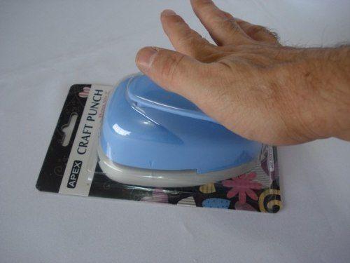 Furador Perfurador Scrapbook Frozen Floco De Neve Corte 4cm  - Presente Presente