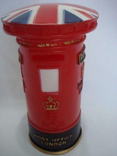 Cofre Caixa De Correio Londres Retro Decoração Inglaterra  - Presente Presente