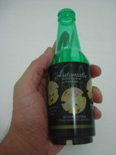 Abridor De Garrafa Automático Garrafa Cerveja Com Paliteiro  - PRESENTEPRESENTE