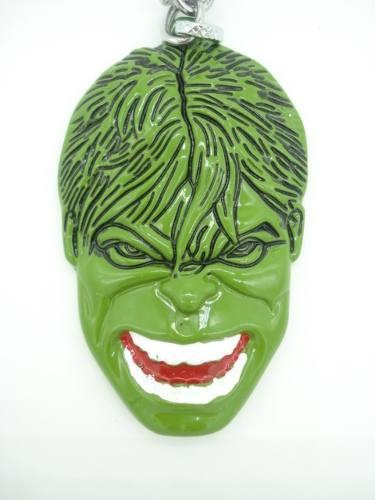 Chaveiro Incrivel Hulk Vingadores Em Metal Verde  - Presente Presente