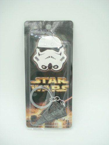 Chaveiro Star Wars Nave Destroyer Imperial Metal  - Presente Presente