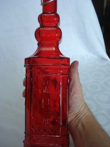 Garrafa De Vidro Colorida 760ml  - Presente Presente