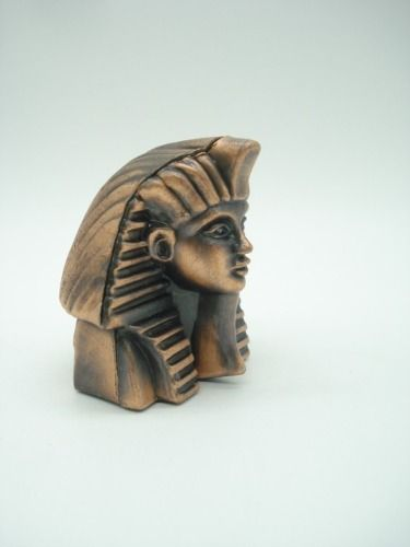 Apontador Mascara Tutancâmon Esfinge Retro Coleção Egito  - Presente Presente
