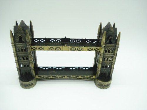 Enfeite Miniatura Tower Bridge Metal Luxo Londres  - Presente Presente