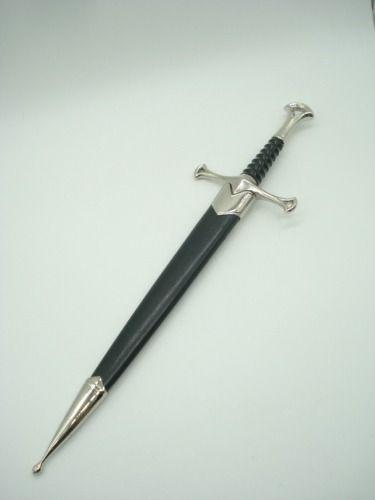 Mini Espada Espada Aragorn Senhor Dos Anéis Cosplay Coleção  - Presente Presente