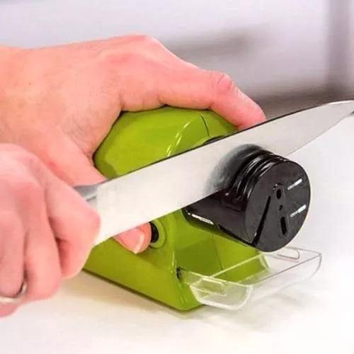 Amolador Afiador De Facas De Cozinha E Esportivas À Pilhas  - Presente Presente