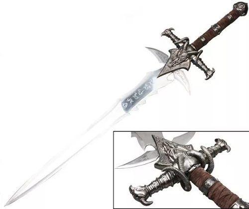 Espada Medieval Frostmourne World Of Warcraft Jogo Cosplay  - Presente Presente