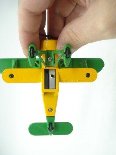 Apontador Avião Com Hélice Monomotor Retro Coleção  - Presente Presente