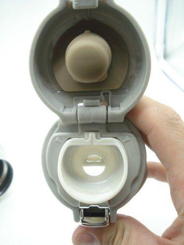 Garrafa Squeeze Cantil Aço Inox Térmico Parede Dupla 450ml  - Presente Presente