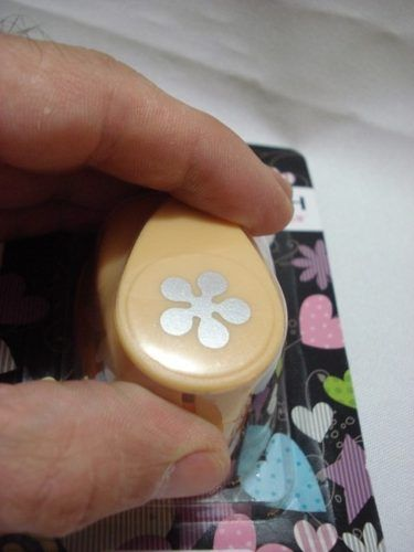 Furador Perfurador Scrapbook Flor 5 Petalas 5 Corte 1,5cm  - Presente Presente