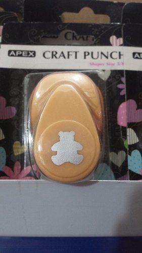 Furador Scrapbook Urso Ursinho 1 Corte 1,5cm Festa Cratf  - Presente Presente