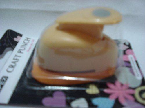 Furador Perfurador Scrapbook Oval Escalopado Corte 1,5cm  - Presente Presente