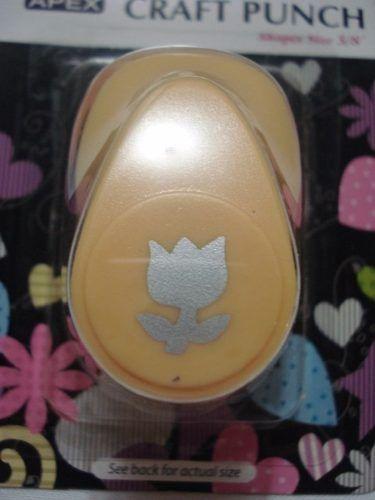 Furador Scrapbook Flor Rosa 1 Corte 1,5cm Festa Cratf Punch  - Presente Presente