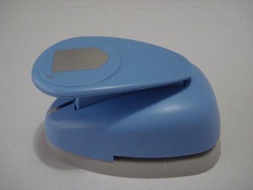 Furador Perfurador Scrapbook Tag Corte 4 X 3cm  - Presente Presente