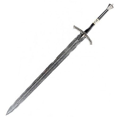 Espada Medieval Game Of Thrones Winter Is Coming 116cm  - Presente Presente