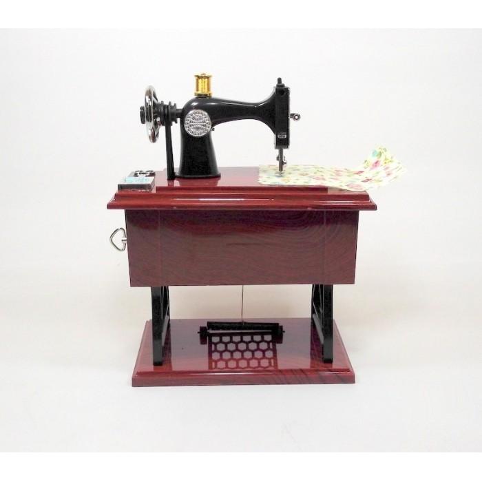 Caixinha De Música Máquina De Costura  - PRESENTEPRESENTE
