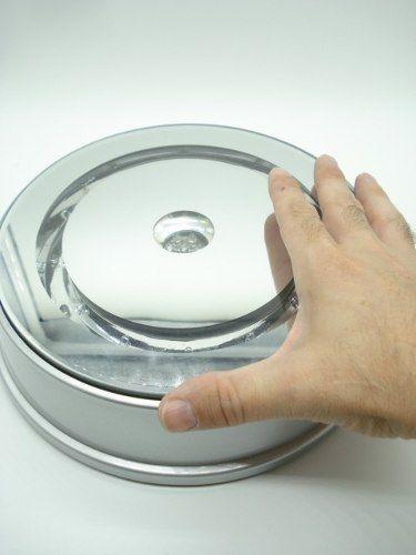 Expositor Display Led Grande 110v Giratório Produtos 22cm  - Presente Presente