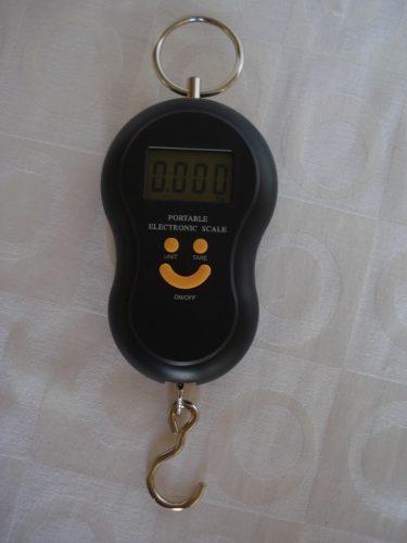 Balança Eletrônica Digital 40kg Lcd 1,5 Polegadas  - PRESENTEPRESENTE