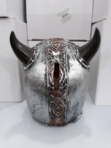 Cofre Cranio Caveira Guerreia Vikings  - Presente Presente