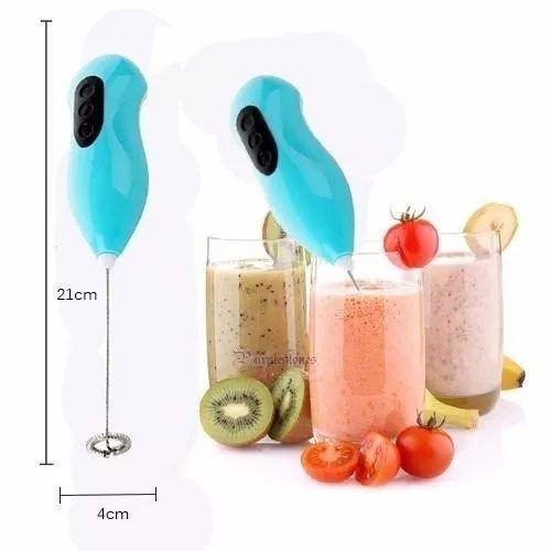 Misturador Portátil Mini Mixer Batedor Bebida Cremosa Café  - Presente Presente
