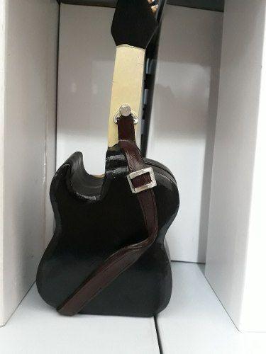 Cofre Resina Guitarra Vintage Retro  - Presente Presente