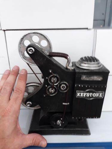 Cofre Resina Projetor Antigo Vintage Retro Cenário  - Presente Presente