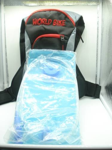 Mochila Hidratação Térmica Bolsa Água 2 Litros World Bike  - Presente Presente