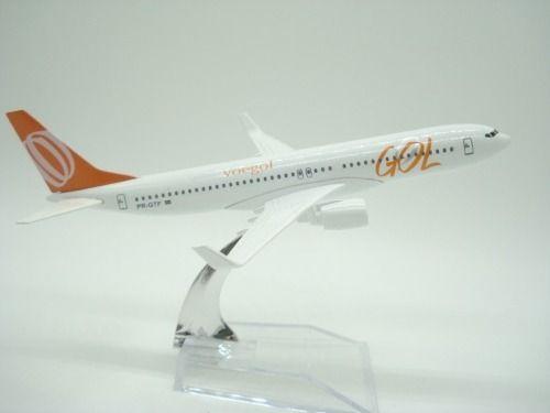 Avião Miniatura Gol Metal  - Presente Presente