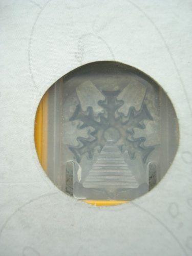 Furador Perfurador Scrapbook Frozen Gelo Corte 1,5cm Floco  - Presente Presente