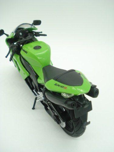 Miniatura Moto Kawasaki Zx-10r Escala 1/12 Maisto