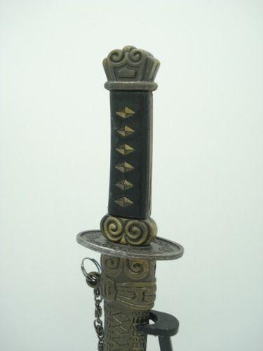 Espada Samurai Katana Metal Decoração Oriental Media Ds3407  - Presente Presente