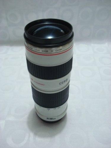 Caneca Em Forma De Lente Canon 350 Ml Copo Simulado  - Presente Presente