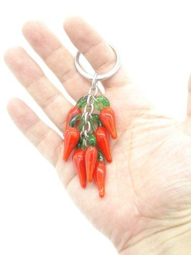 Chaveiro Pimenta Galho Amuleto Sorte Decoração Mod2  - Presente Presente