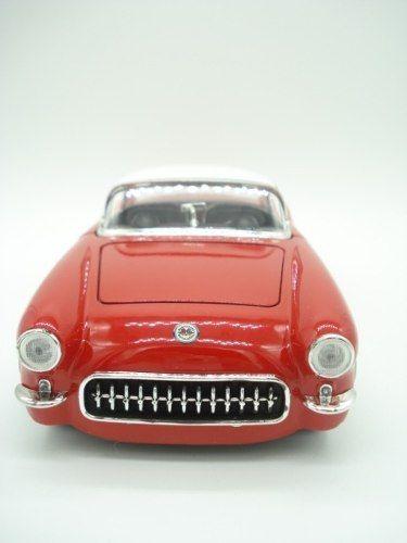 Carrinho Metal Chevy Corvette 1957 Big Time Vermelho  - Presente Presente