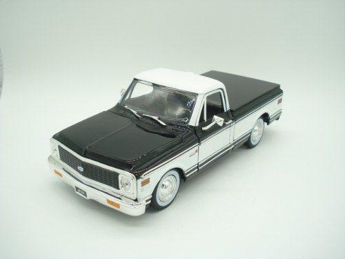 Carrinho Metal Caminhonete Chevy Cheyenne Pickup 1/24  - Presente Presente