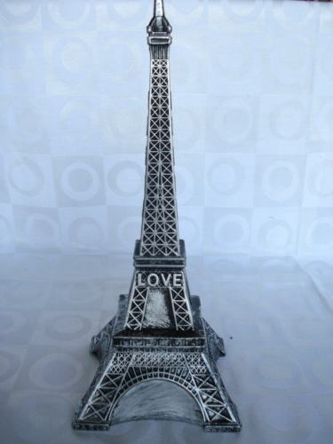 Cofre Torre Eiffel Vintage Cofrinho Moedas  - Presente Presente
