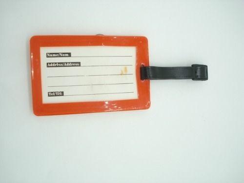 Chaveiro Identificação De Malas Smurf Etiqueta Vemelha  - Presente Presente