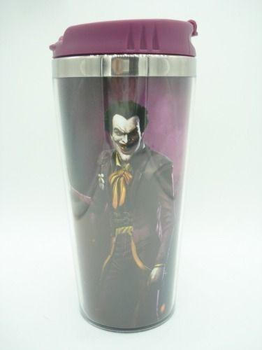 Caneca Copo Térmico Coringa Gotham Joker Zona Criativa  - Presente Presente