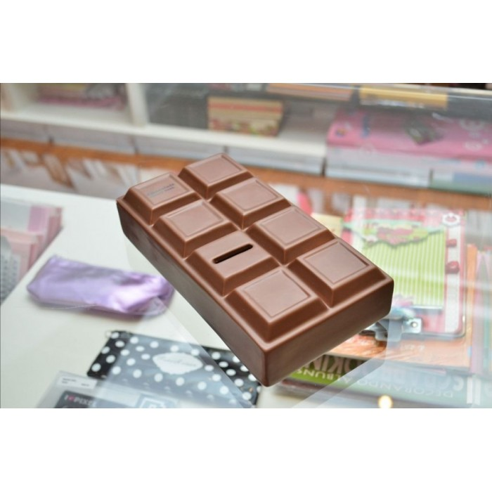Cofre Barra De Chocolate cofrinho  - Presente Presente