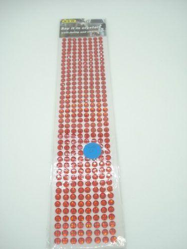 Conjunto Adesivo Destacável Brilho Vermelho  - Presente Presente
