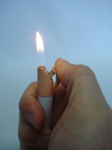 Isqueiro Smoke Stilo Cigarrete Para Coleção Exército Bala  - Presente Presente